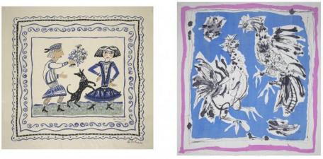 artist scarf