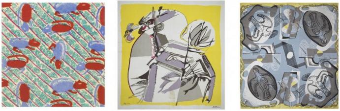 artist scarf zika ascher